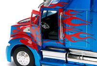 Jada Diecast Metal 1:24 Scale Transformers Optimus Prime Vehicle/Truck Mode - 219 Collectibles
