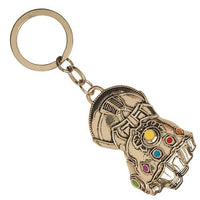 Avengers: Infinity War Thanos Infinity Gauntlet Key Chain by Bioworld - 219 Collectibles