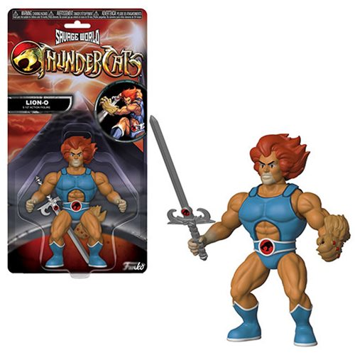 FUNKO SAVAGE WORLD THUNDERCATS LION-O ACTION FIGURE - 219 Collectibles
