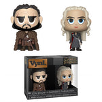 Game of Thrones Jon Snow and Daenerys Targaryen FUNKO Vynl. Figure 2-Pack - 219 Collectibles