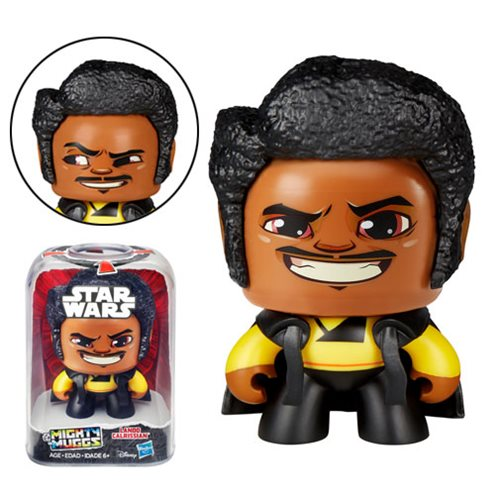 Disney Star Wars Mighty Muggs Lando Calrissian Action Figure by Hasbro