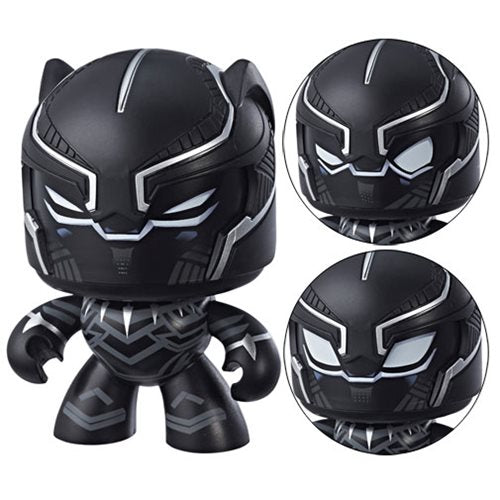IN STOCK! Marvel Mighty Muggs Black Panther Action Figure BY HASBRO