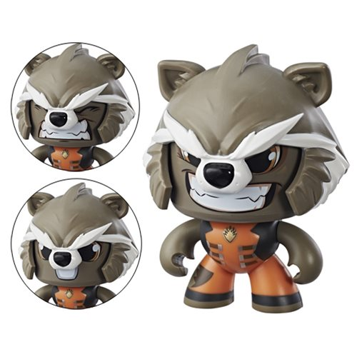 Marvel Mighty Muggs Rocket Racoon Action Figure by Hasbro