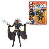X-Men Retro Marvel Legends 6-Inch Black Outfit Storm Action Figure - Exclusive by Hasbro