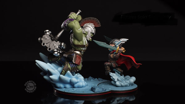 Thor vs Hulk QMX Q-Fig Diorama Set of 2 Figures from the Movie Thor Ragnarok