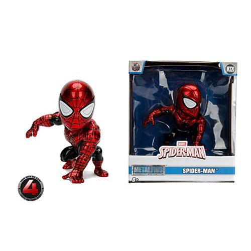 Superior Spider-Man Metals 4-Inch Die-Cast Metal Action Figure BY JADA TOYS - 219 Collectibles