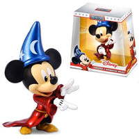 JADA METALFIGS Disney Metals Sorcerer Mickey Mouse 6-Inch Die-Cast Metal Action Figure - 219 Collectibles