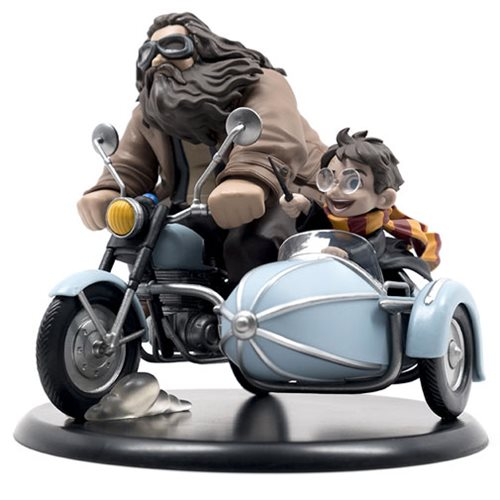 QMX Quantum Mechanix Harry Potter and Rubeus Hagrid Q-FIG MAX Diorama - 219 Collectibles