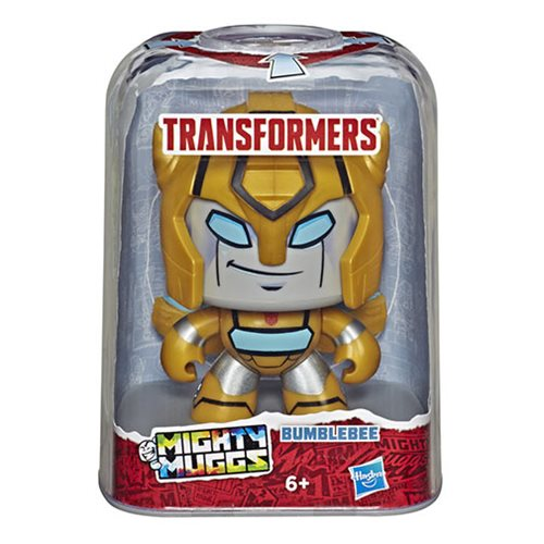 Transformers Mighty Muggs Bumblebee Action Figure BY HASBRO