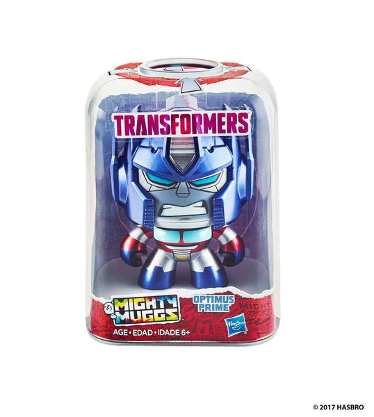 IN STOCK! Transformers Mighty Muggs Action Figure OPTIMUS PRIME BY Hasbro Toys