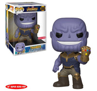 "Avengers Infinity War FUNKO POP Marvel 10"" Mad Titan Thanos Target Exclusive - 219 Collectibles"