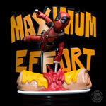 QMX Quantum Mechanix Deadpool Maximum Effort MAX Diorama Q-Fig - 219 Collectibles