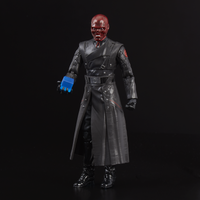 "2018 SDCC Exclusive Marvel Legends Red Skull Figure 6"" w/ Electronic Tesseract"