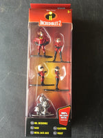"The Incredibles 1.65"" JADA Nano Metalfigs Die-Cast Mini-Figures 5-Pack - 219 Collectibles"