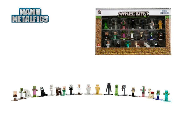 IN STOCK!  JADA METALS Nano Metalfigs MINECRAFT 20-Pack - 219 Collectibles