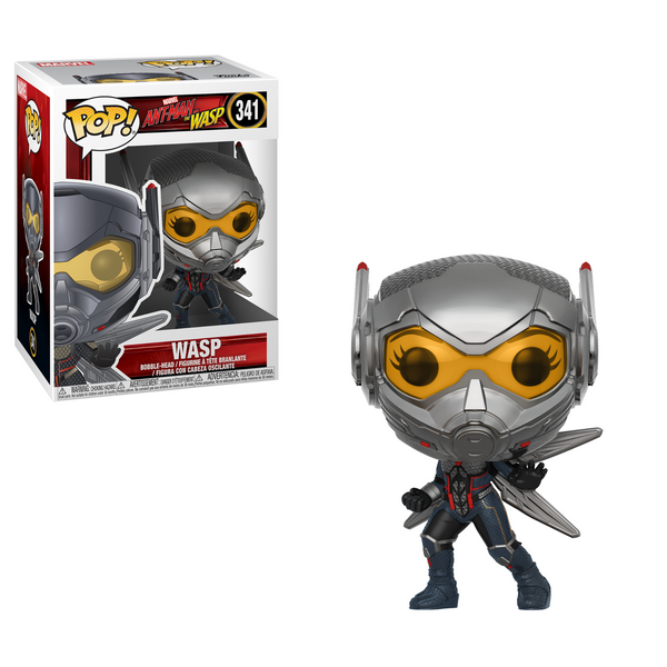 Ant-Man & The Wasp FUNKO Pop! Vinyl Figure #340 THE WASP EVANGELINE LILLY