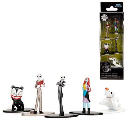 Nightmare Before Christmas Nano Metalfigs Die-Cast Metal Mini-Figure 5-Pack - 219 Collectibles