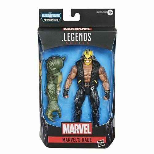 Avengers Video Game Marvel Legends 6-Inch Rage Action Fig. By HASBRO
