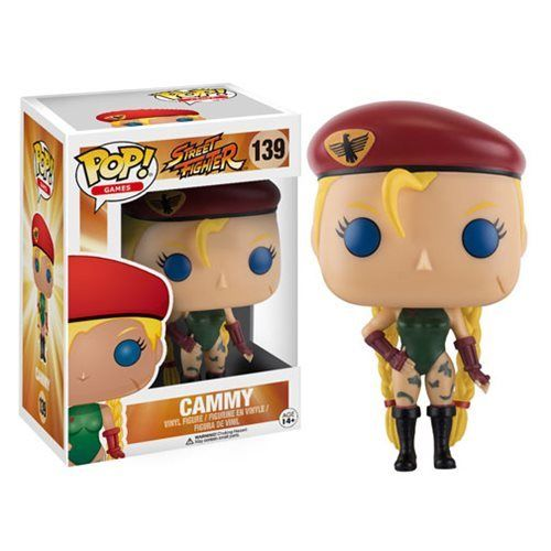 Capcom Street Fighter Funko Pop Games Vinyl Figure #139 CAMMY - 219 Collectibles