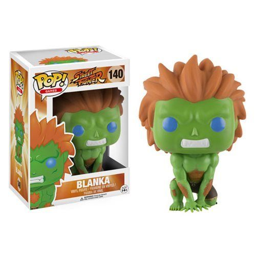 Capcom Street Fighter Funko Pop Games Vinyl Figure #140 BLANKA - 219 Collectibles