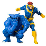 Marvel Universe X-Men 1992 Cyclops and Beast 2-Pack ARTFX+ Statue