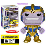 "Thanos Glow-in-the-Dark 6"" Funko Pop! Vinyl Figure Entertainment Earth Exclusive"