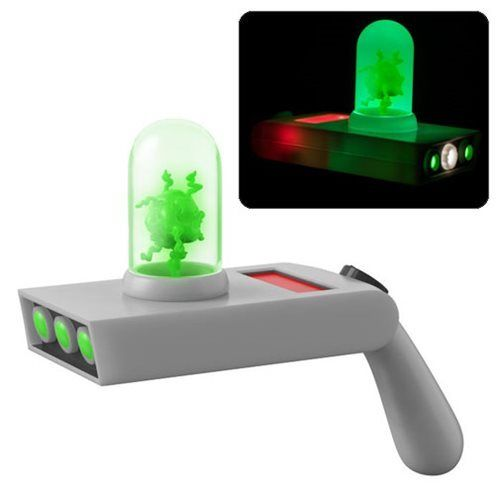 Rick and Morty Portal Gun Light-Up Prop Replica with Sound - 219 Collectibles