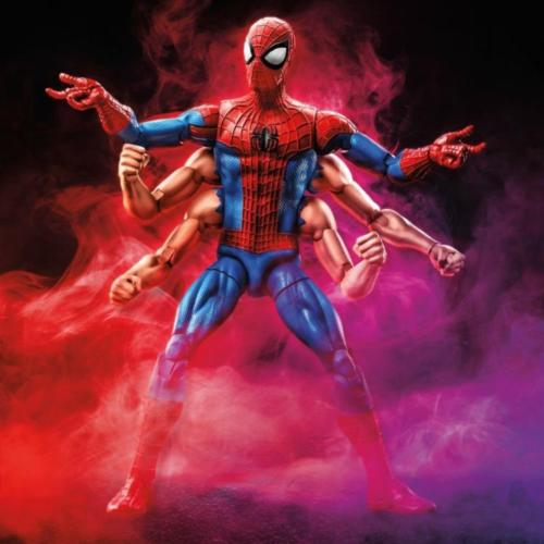 Marvel Legends Amazing Spider Man Wave 11 Six Arm Spider-Man - 219 Collectibles