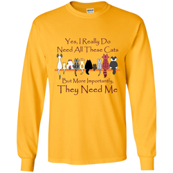 Yes, I Really Do ... Exclusive Design Long-Sleeve T-Shirt