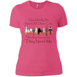 Yes, I Really Do ... Exclusive Design Ladies' T-Shirt