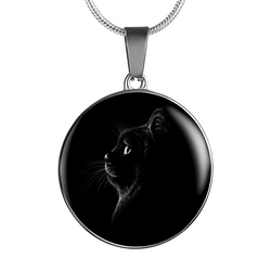 I Love Cats Pendant Necklace - FREE Shipping