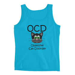 Do You Have OCD ... Obsessive Cat Disorder?  (Exclusive Design Ladies' Tank)