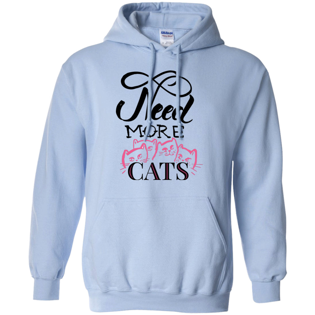 Sweatshirts - Need More Cats Pullover Hoodie (Exclusive Design)