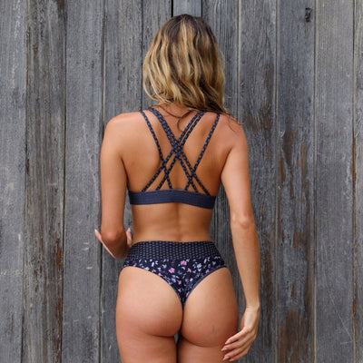 High Waist Cheeky Bikini Bottom - Sofia | Bottoms BEST SELLER !