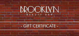 Brooklyn Beauty Bar - Gift Voucher