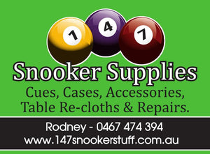 147 snooker supplies