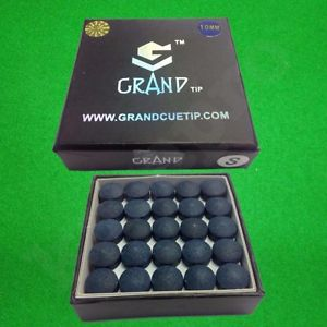 Grand Pool Cue tips. SINGLE TIPS (soft only)