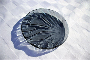 Grey Butterfly - Tiny Plate - Katharine Oliver