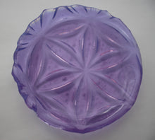 Flower of Life Little Lilac Opaline Plate - Katharine Oliver