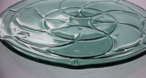 Art Nouveau meets Art Deco Platter - Sea green - Katharine Oliver