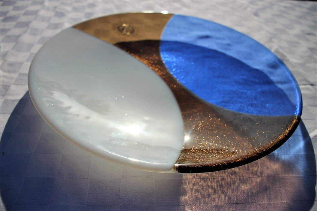 Circularity Bespoke Platter - No. 4 Clouds in the sky, rocks by the sea - Katharine Oliver