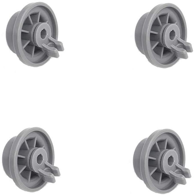 Xcivi Replacement 165314 Dishwasher Lower Rack Wheel for Bosch & Kenmore Dishwashers (4)