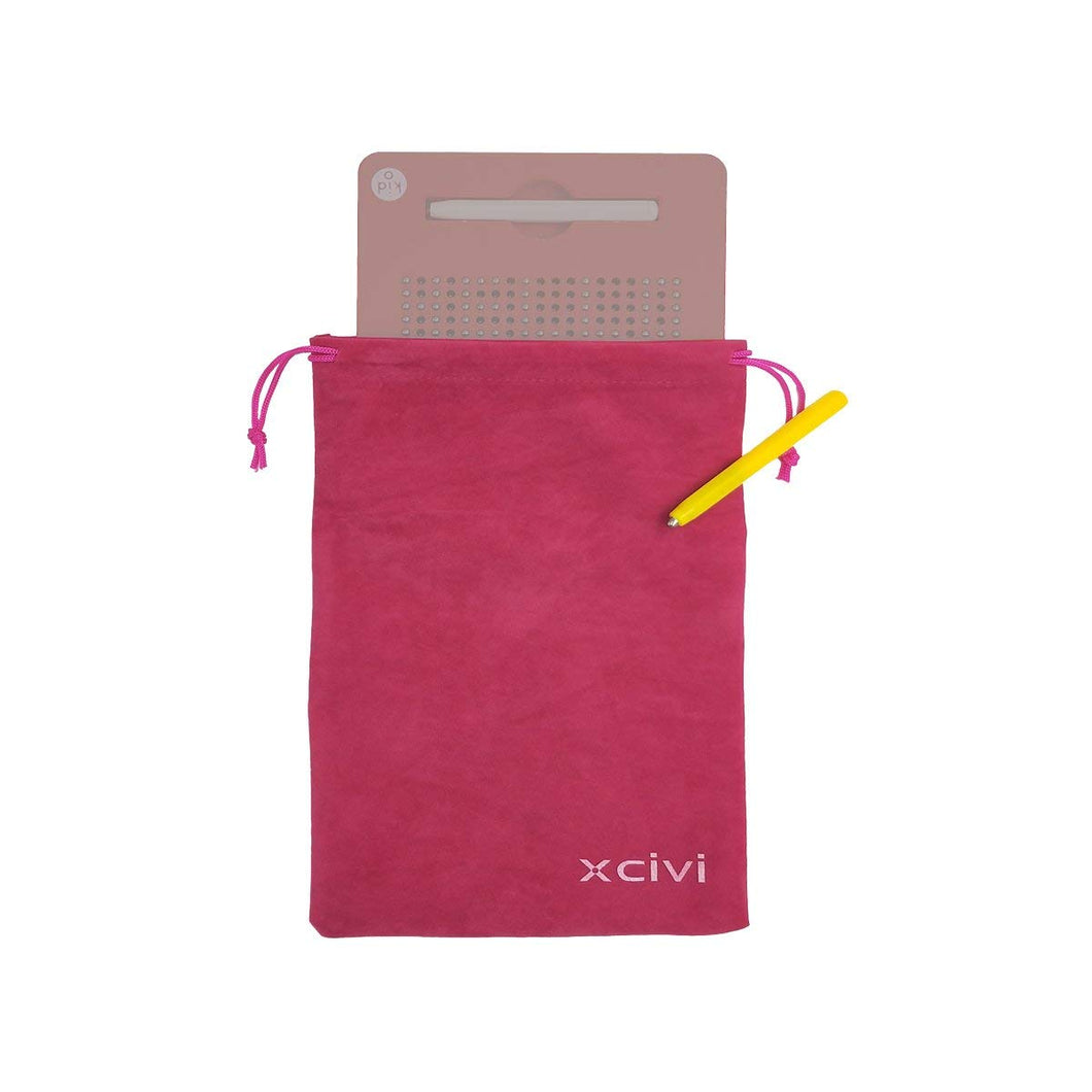 xcivi Carrying Case and Replacement Stylus for Kid O Free Play Magnatab and 0-9 Numbers Magnatab