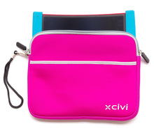 Neoprene-Protective-Case-for-Boogie-Board-Scribble-n-Play-with-Stylus-Bag-Pink