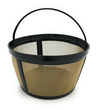 ShuRex Reusable Basket Style Filter For Mr. Coffee Maker With Handle Golden