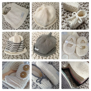Merino baby clothes NZ made & baby accessories