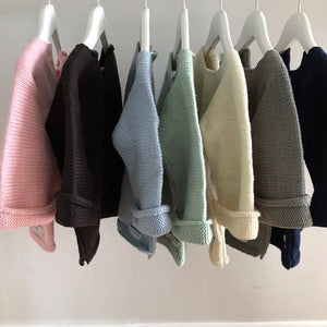 Merino baby clothing NZ - cardigans, jerseys, Aran jumper