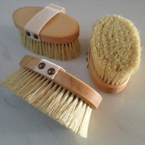 Natural wooden pet brushes