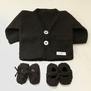 Cardigan & Shoes Gift Set