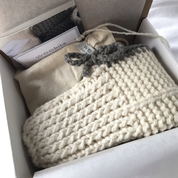 Mum's slippers and face brush gift set boxed ready for sending
